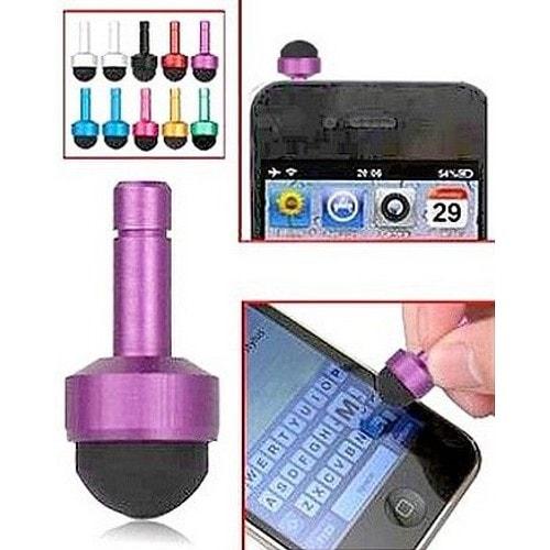 bouchon obturateur jack 3 5 mm mini stylet pour ecran tactile capacitif iphone ipod ipad. Black Bedroom Furniture Sets. Home Design Ideas