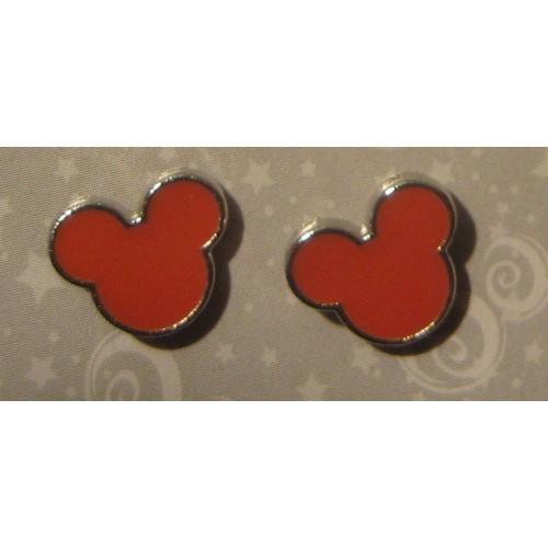 Boucles D Oreilles Disney Mickey Orange Disneyland Achat Et Vente