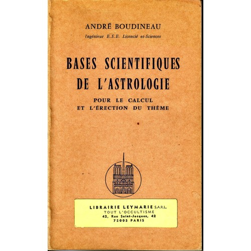 bases scientifiques de l 39 astrologie de boudineau andr. Black Bedroom Furniture Sets. Home Design Ideas