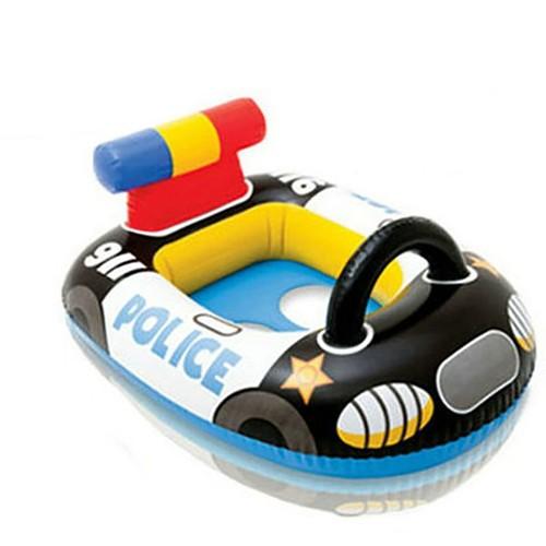 bou e enfant cartoon voiture de police gonflable fauteuil s curit piscine natation b b une. Black Bedroom Furniture Sets. Home Design Ideas