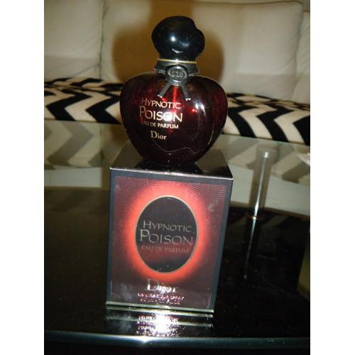 Bouteille Eau De Parfum Vide 50ml Hypnotic Poison Neuf Et Doccasion
