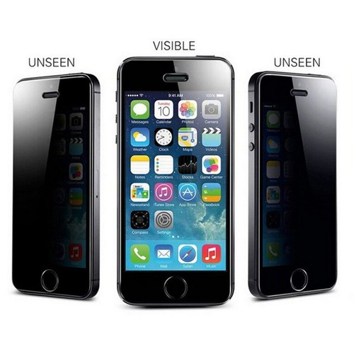 bpfy top qualite iphone 5 5c 5s se 4 39 ecran anti espion vitre de protection apple spy. Black Bedroom Furniture Sets. Home Design Ideas
