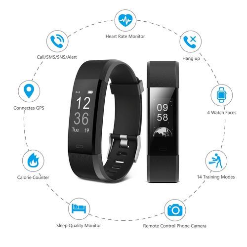 bracelet connect cardio intelligent montre sport tanche connect e savfy tracker activit. Black Bedroom Furniture Sets. Home Design Ideas