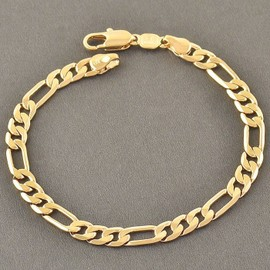 Bracelet or homme maille