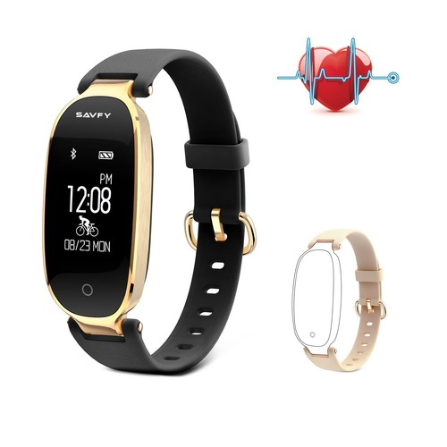 bracelet intelligent montre femme sport tanche connect e savfy tracker activit sommeil. Black Bedroom Furniture Sets. Home Design Ideas