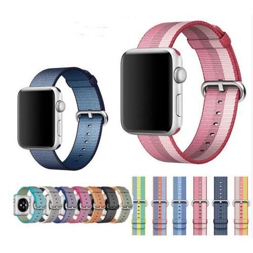 Bracelet Tissu Pour Montre Apple Watch 42mm 38mm Sport Iwatch