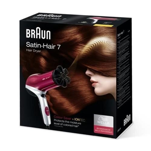 braun satin hair 7 hd750 s che cheveux rouge noir pas cher. Black Bedroom Furniture Sets. Home Design Ideas