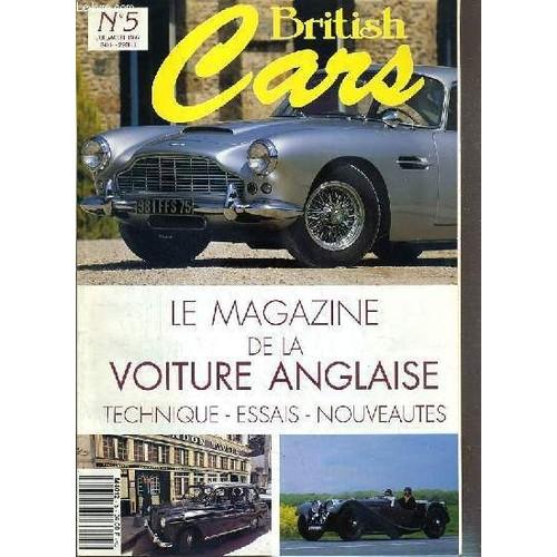 british cars n 5 juil aout 1992 le magazine de la. Black Bedroom Furniture Sets. Home Design Ideas
