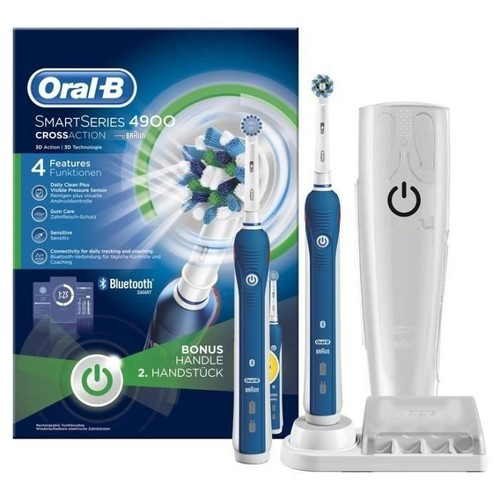 brosse a dents lectrique oral b smart series 4900 par braun. Black Bedroom Furniture Sets. Home Design Ideas