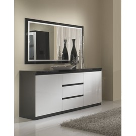 Stunning Buffet Noir Et Blanc Photos