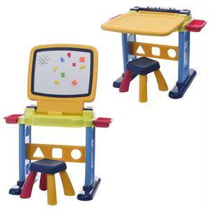 Cat table activite playgo toys bureau et tableau 2 en 1 for Activite de bureau