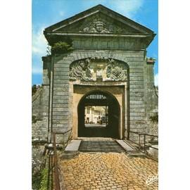 C.Postale : France - 17 - Ile De R� - Saint-Martin - Les Fortifications, Porte Des Campani