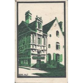 C.Postale : France - 37 - Langeais - La Maison De Rabelais