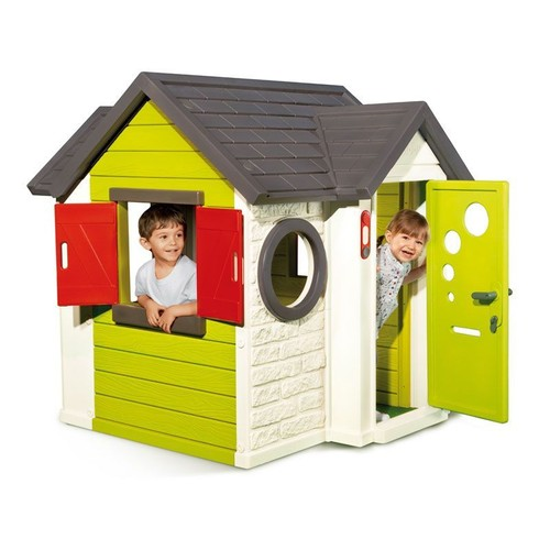 Cabane enfant my house smoby neuf et d 39 occasion sur for Maisonnette smoby occasion