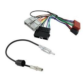 c ble adaptateur autoradio connecteur faisceau iso et d 39 antenne pour chrysler jeep dodge. Black Bedroom Furniture Sets. Home Design Ideas