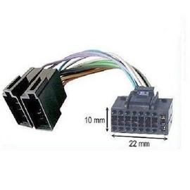 c ble adaptateur connecteur faisceau iso pour autoradio jvc 16 pins 10 x 22mm. Black Bedroom Furniture Sets. Home Design Ideas