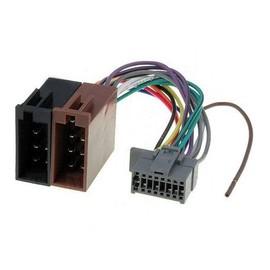 c ble adaptateur connecteur faisceau iso pour autoradio panasonic 16 pin. Black Bedroom Furniture Sets. Home Design Ideas