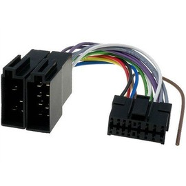 c ble adaptateur connecteur faisceau iso pour autoradio pioneer 16 pins. Black Bedroom Furniture Sets. Home Design Ideas