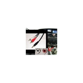 cable auxiliaire rca ipod iphone mp3 musique peugeot 407 408 208 308 307 207 skyexpert. Black Bedroom Furniture Sets. Home Design Ideas