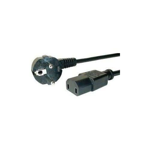 cable d 39 alimentation secteur pour console microsoft xbox. Black Bedroom Furniture Sets. Home Design Ideas