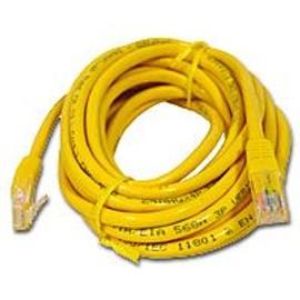 cable ethernet jaune 1 m tre pas cher achat vente. Black Bedroom Furniture Sets. Home Design Ideas