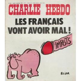 Charlie Hebdo N°303 - Les Francais Vont Avoir Mal Impots