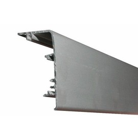 8569de58bc4 Cache-rail pour vantail verre Expert-aluminium ROB pas cher - Rakuten