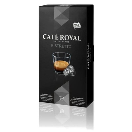 cafe royal ristretto capsules compatibles systeme. Black Bedroom Furniture Sets. Home Design Ideas