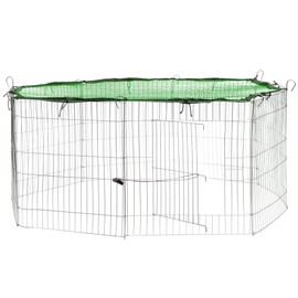 """environ 2.54 cm soudés Grillage volière clôture poulet lapin jardin 15 m X 1 M 1/"""" X 1 in"""