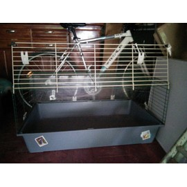 cage lapin achat vente de accessoire animalerie priceminister rakuten. Black Bedroom Furniture Sets. Home Design Ideas