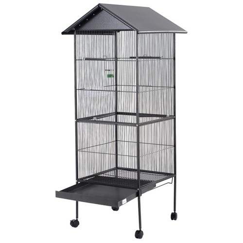 cage voli re pour perroquet cage oiseaux m tal canaries. Black Bedroom Furniture Sets. Home Design Ideas