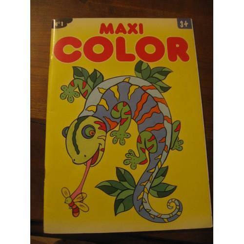 Cahier De Coloriage Maxi Color 912728874 L