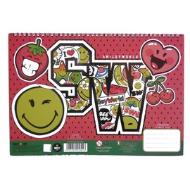 Cahier De Dessin Smiley Livre De Coloriage Stickers Regle Pochoir Emoji