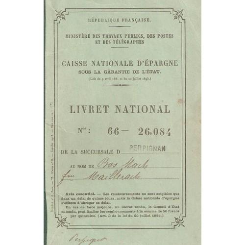 Caisse Nationale D Epargne Livret National Perpignan Bos Mach