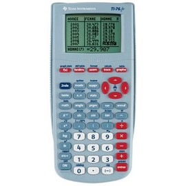 Calculatrices graphique texas graphique ti 76 fr neuf et for Calculatrice prix
