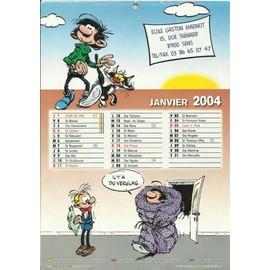 Initiatives Calendrier.Calendrier Initiatives Gaston 2004 Achat Et Vente Rakuten