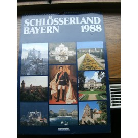 Calendrier Bayern.Calendrier Schlosserland Bayern 1988