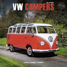 calendrier vw campers combi vw 2017 achat et vente. Black Bedroom Furniture Sets. Home Design Ideas