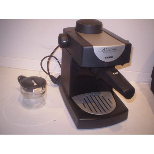 calor expresso allegro 2306 machine caf expresso pas cher. Black Bedroom Furniture Sets. Home Design Ideas