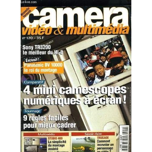 camera video n 120 comparatif 4 mini camescope a ecran 9 regles faciles pour mieux cadrer. Black Bedroom Furniture Sets. Home Design Ideas