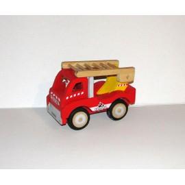 camion de pompier jouet en bois fizzy pompi neuf et d 39 occasion. Black Bedroom Furniture Sets. Home Design Ideas