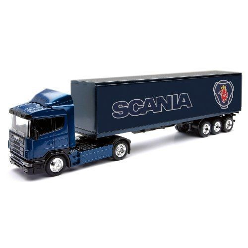 camion remorque scania r124 400 1 43e newray neuf et d 39 occasion. Black Bedroom Furniture Sets. Home Design Ideas