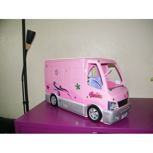 camping car barbie achat vente neuf occasion priceminister. Black Bedroom Furniture Sets. Home Design Ideas