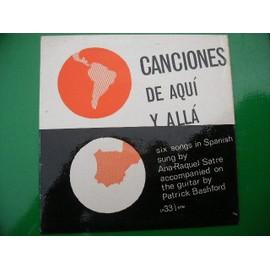 Canciones De Aqui Y All� - Ana-Raquel Satre