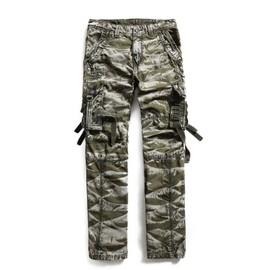 Cargo Pantalon taille Multi Poche Grand Homme Militaire rrZdqA