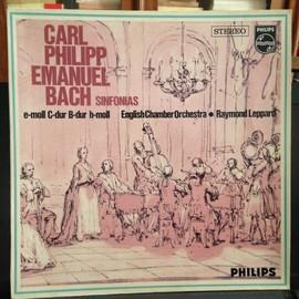 Carl Philipp Emanuel Bach: Sinfonias F�r Streicher Und Continuo (Sinfonia) - Raymond Leppard English Chamber Orchestra