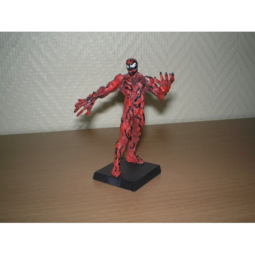 carnage figurine marvel en plomb neuf et d 39 occasion. Black Bedroom Furniture Sets. Home Design Ideas