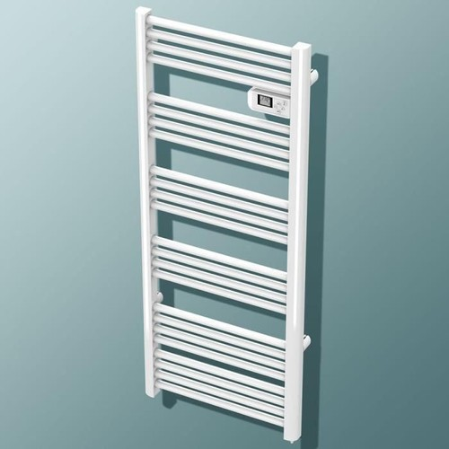 carrera jupiter lcd 750 watts radiateur seche serviettes lectrique barres rondes. Black Bedroom Furniture Sets. Home Design Ideas