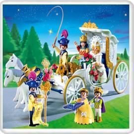 Playmobil 4258 mari s et carrosse neuf et d 39 occasion for Carrosse princesse playmobil