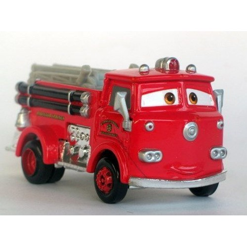 cars disney pixar red le camion de pompier de radiator springs. Black Bedroom Furniture Sets. Home Design Ideas